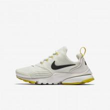 Nike Presto Fly Lifestyle Shoes Boys Light Bone/Vivid Sulfur/Velvet Brown (105OVDTI)
