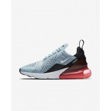 Nike Air Max 270 Lifestyle Shoes Womens Ocean Bliss/Black/Hot Punch/White (111LTRFN)