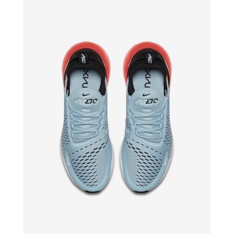 Billige Nike Air Max 270 Pige SortHvide,Nike Casual Sko