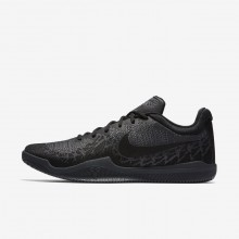 Nike Mamba Rage Basketball Shoes Mens Black/Dark Grey/Cool Grey (116VEWGT)