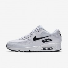 Nike Air Max 90 Lifestyle Shoes For Women White/Black (121ESQKL)