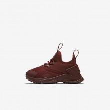 Nike Huarache Casual Sko Pige Rød/Hvide (123DAZXM)
