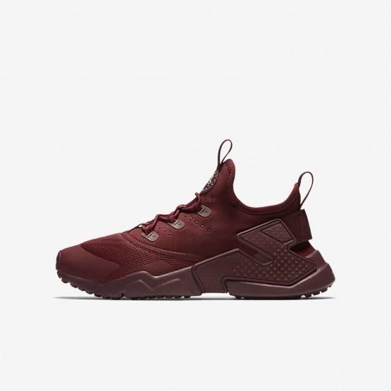 Nike Huarache Lifestyle Shoes Boys Team Red/White (126DKTSO)