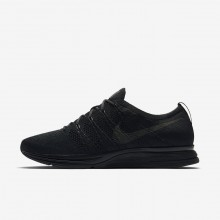 Nike Flyknit Trainer Lifestyle Shoes Mens Black/Anthracite (131MIOQB)