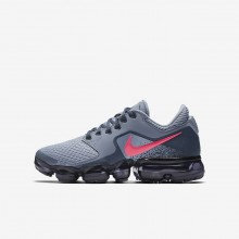 Nike Air VaporMax Running Shoes For Girls Dark Sky Blue/Thunder Blue/Midnight Navy/Racer Pink (132ETYHF)