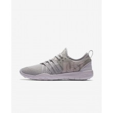 Nike Free Trainer Training Shoes For Women Moon Particle/Barely Rose/Grand Purple (142ZTJVA)