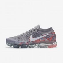 Chaussure Running Nike Air VaporMax Femme Grise/Blanche (154IEXRV)