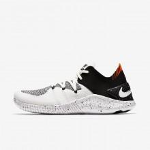 Nike Free TR Training Shoes For Women White/Black (169UATLX)