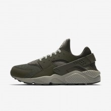 Nike Air Huarache Lifestyle Shoes For Men Sequoia/Dark Stucco/Black (176IFZVP)