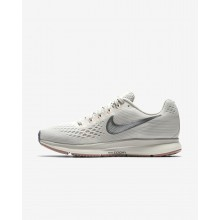Nike Air Zoom Running Shoes For Women Light Bone/Pale Grey/Sail/Chrome (177JDFXU)
