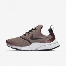 Nike Presto Fly Lifestyle Shoes Womens Port Wine/Particle Pink/Black/Metallic Mahogany (181BOCXP)