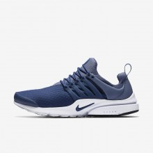 Nike Air Presto Lifestyle Shoes Mens Navy/Diffused Blue/Black (183JFBPW)