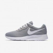 Chaussure Casual Nike Tanjun Femme Grise/Blanche (186QUGZD)