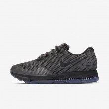 Nike Zoom All Out Running Shoes Womens Midnight Fog/Obsidian/Black (194FXWOQ)