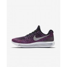 Nike LunarEpic Low Running Shoes Womens Black/Hyper Punch/Persian Violet/Metallic Silver (194RAFCN)