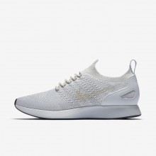 Nike Air Zoom Lifestyle Shoes Mens Pure Platinum/Light Bone/White/Dark Grey (200QYDTX)