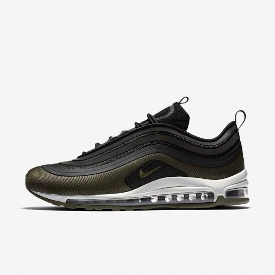 Nike Air Max 97 Lifestyle Shoes For Men Black/Medium Olive/Light Pumice/Dark Hazel (211TJDHK)