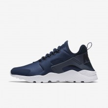 Nike Air Huarache Lifestyle Shoes Womens Navy/Obsidian/White/Diffused Blue (221GBYTL)