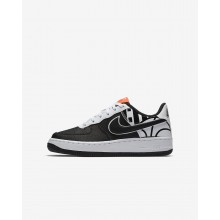 Nike Air Force 1 Lifestyle Shoes Boys Black/White (225SEJUD)
