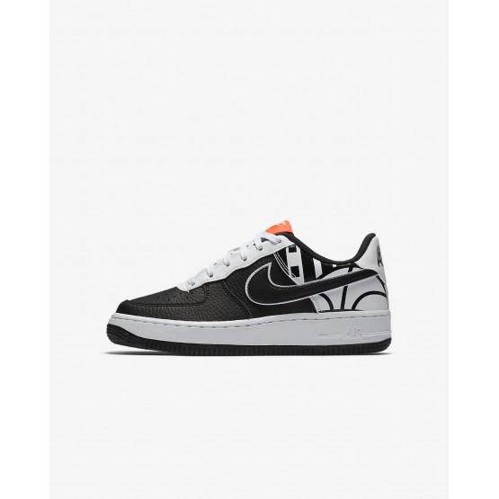 Nike Air Force 1 Lifestyle Shoes Boys Black/White (225SEJUD)