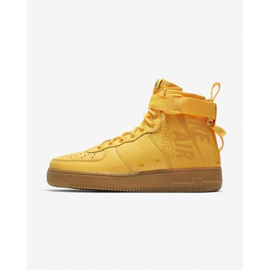 Chaussure Casual Nike SF Air Force 1 Homme Orange/Noir (226EZVWH)