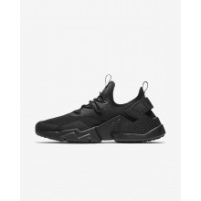 Nike Air Huarache Lifestyle Shoes Mens Black/White (231ZULNQ)