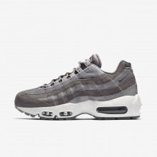 Nike Air Max 95 Lifestyle Shoes For Women Gunsmoke/Atmosphere Grey/Summit White (256WKYTC)