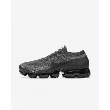 Nike Air VaporMax Running Shoes For Men Black/White/Racer Blue (260SNVWK)