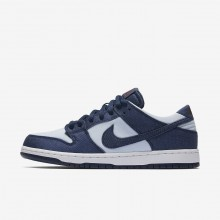 Nike SB Dunk Skateboarding Shoes For Men Binary Blue/Hydrogen Blue/Dark Team Red (262TRGLO)