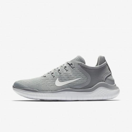 Nike Free RN Løbesko Kvinder Grå/Hvide (264ACXQI)