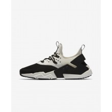 Nike Air Huarache Lifestyle Shoes Mens Black/White/Sail (279TXUSY)