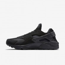Nike Air Huarache Lifestyle Shoes For Men Black/Grey (287PDVFU)