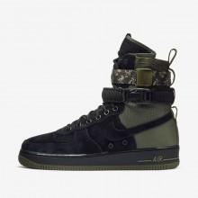 Chaussure Casual Nike SF Air Force 1 Homme Noir/Vert Olive/Vert Olive (290CYAHV)