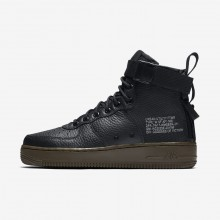 Nike SF Air Force 1 Lifestyle Shoes Womens Black/Dark Hazel (294RYOQT)