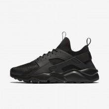 Nike Air Huarache Lifestyle Shoes For Men Black (297VTLGD)