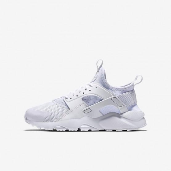 Nike Air Huarache Lifestyle Shoes For Boys White (298DFVJO)