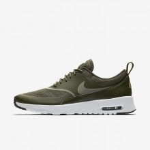 Nike Air Max Thea Lifestyle Shoes Womens Cargo Khaki/Black/Dark Stucco (305XYWJL)