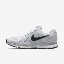 Nike Air Zoom Running Shoes Womens White/Pure Platinum/Wolf Grey/Anthracite (312IWHZO)