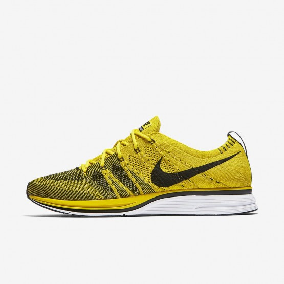 Chaussure Casual Nike Flyknit Trainer Homme Blanche/Noir (315PUEQS)