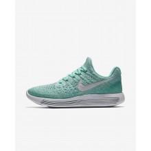 Nike LunarEpic Low Løbesko Kvinder Turkis/Platin (317WLMYS)