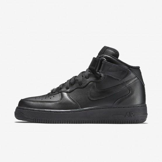 Chaussure Casual Nike Air Force 1 Femme Noir (325XPOBV)