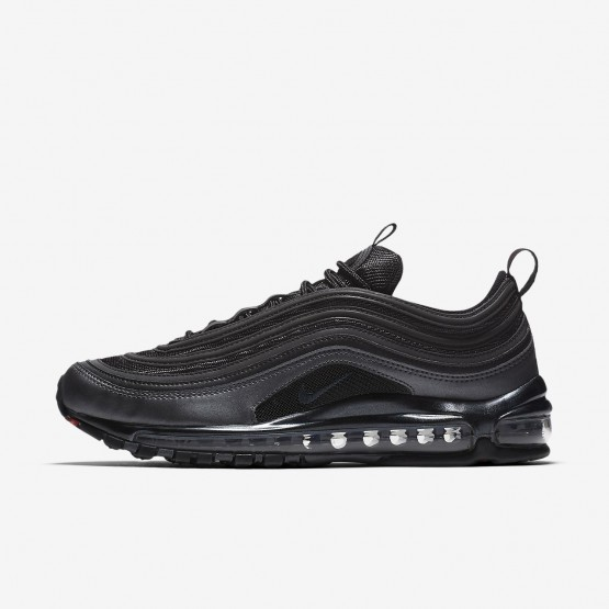 Nike Air Max 97 Lifestyle Shoes For Men Black/Metallic Hematite/Dark Grey/Anthracite (327QBFEL)