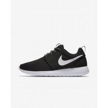 Chaussure Casual Nike Roshe One Femme Noir/Grise Foncé/Blanche (335CZUGN)