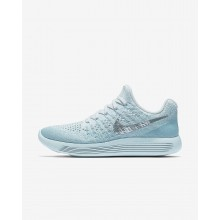 Nike LunarEpic Low Running Shoes Womens Glacier Blue/Polarized Blue/Wolf Grey/Metallic Silver (345OZFWH)