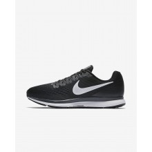 Nike Air Zoom Running Shoes For Men Black/Dark Grey/Anthracite/White (347ZJCRS)