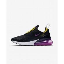 Nike Air Max 270 Lifestyle Shoes Mens Black/Hyper Grape/Tour Yellow/Hyper Magenta (352IJQEG)