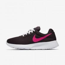 Nike Tanjun Lifestyle Shoes Womens Port Wine/White/Deadly Pink (356KSJGD)