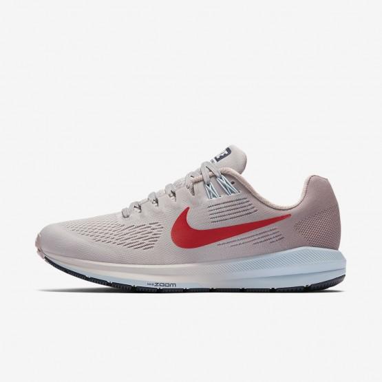 Nike Air Zoom Løbesko Kvinder Grå/Lyserød/Rød (363XISYO)