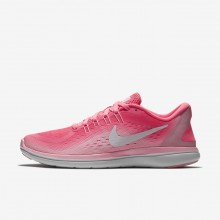 Nike Flex 2017 RN Running Shoes Womens Sunset Pulse/Arctic Punch/White (364FDXNA)