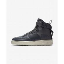 Chaussure Casual Nike SF Air Force 1 Homme Grise Foncé/Clair (379AXHRL)